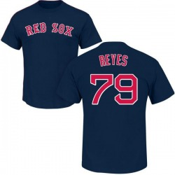 Youth Denyi Reyes Boston Red Sox Roster Name & Number T-Shirt - Navy